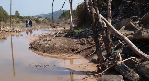 One out of three rivers in the Iberian Peninsula is affected by salinization