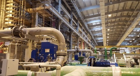 Sacyr starts operations at the desalination plant in Sohar, Oman