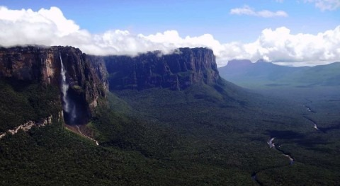 Angel Falls, the highest waterfall in the world