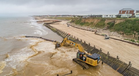 Vast sand scheme to protect Norfolk coast from flooding