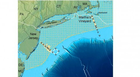 Scientists map huge undersea fresh-water aquifer off U.S. northeast
