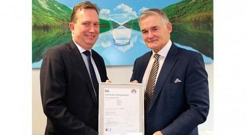 Scottish Water receives BSI Award for energy management