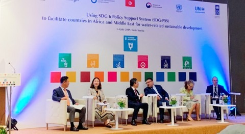 Facilitating countries in Africa and the Middle East for water-related sustainable development