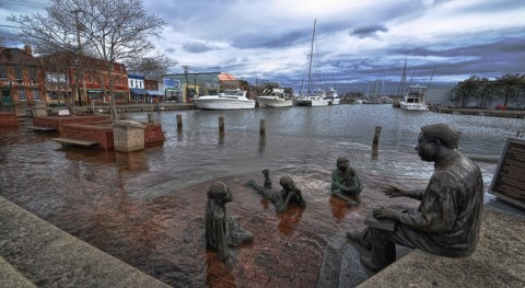 Study reveals why the sea level rises faster in some places on the U.S. East Coast than others
