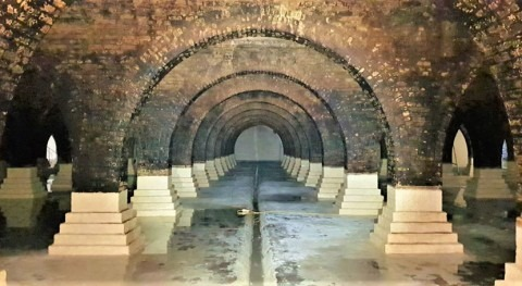 Secret underground reservoir in London revealed