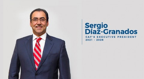 Sergio Díaz-Granados is elected as CAF's new Executive President