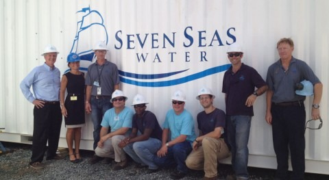 Seven Seas Water announces amendment of water agreement with Limetree Bay Terminals