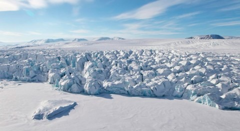 Russian Arctic warming leads to major ice loss