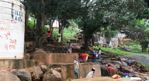 With reservoirs at risk, Sierra Leone capital confronts water crisis