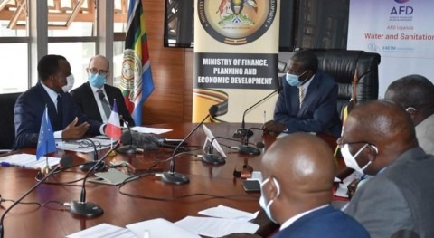 Uganda: AFD and the EU to finance better access to rural water in the district of Isingiro