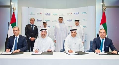 Mubadala and Dubal Holding sign deal with EGA to build new desalination plant