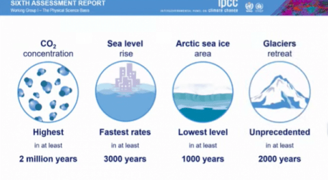 WMO: New climate report is clarion call for urgent action