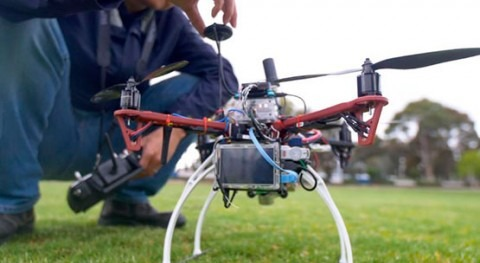 Monash University trials autonomous drones for smart water sensing