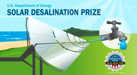 """""""Solar-thermal desalination systems are potential low-cost option to produce clean water"""""""