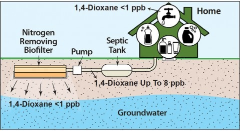 New approach to removing toxins in wastewater