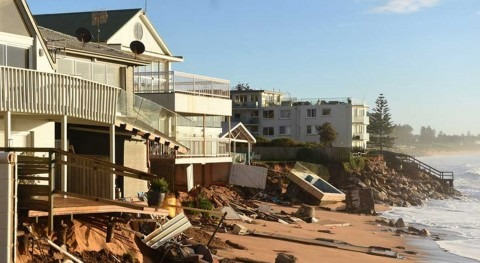 Water may soon lap at the door, but still some homeowners don't want to rock the boat