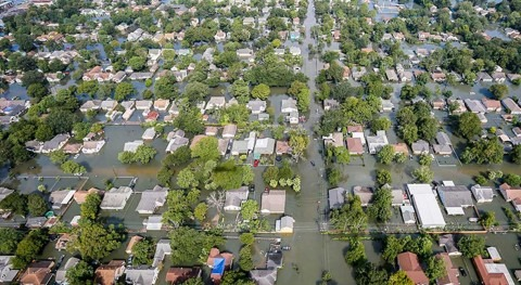 How does flooding affect homeownership?
