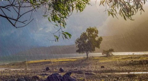 Divining monsoon rainfall months in advance with satellites and simulations