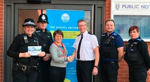 Thames Water partner with police to help those in need