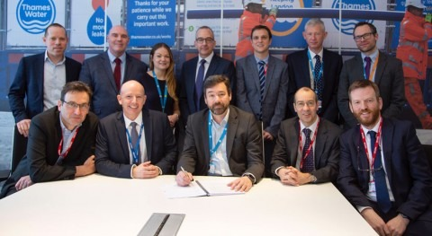 Thames Water signs £200m contract to hit ambitious leakage reduction targets