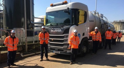 Thames Water hires celebrity truck drivers to deliver key services