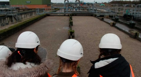 Thames Water sewage works premieres new planter which protects sewers from flooding