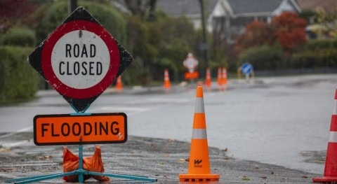 The water cycle is more intense. That makes New Zealand's wet regions wetter, and dry ones drier