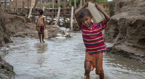 There has never been more urgent time to safeguard children's right to safe water and sanitation
