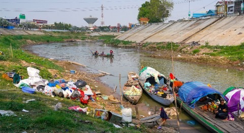 Cambodia's dwindling fish stocks put spotlight on changing rivers