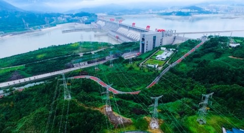 Three Gorges Project operates at full capacity the first time this year
