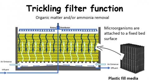 Trickling filter design guideline – How do trickling filters work?