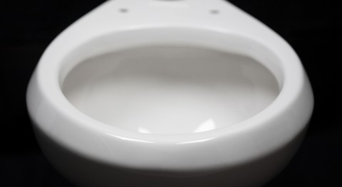 New slippery toilet coating provides cleaner flushing and saves water