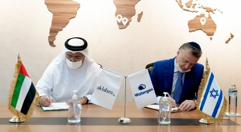 Al Dahra and Watergen sign strategic partnership in water security