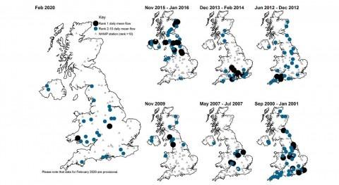 Experts analyse record-breaking UK February floods