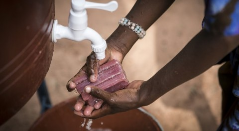 Initiative led by UNICEF and WHO calls for universal access to hand hygiene