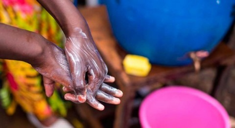 """To control COVID-19, we have to make hand hygiene accessible to all"" – UNICEF and WHO"
