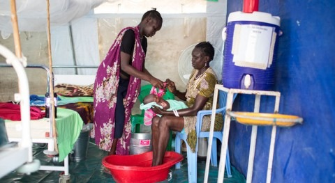 1 in 4 health care facilities around the world lacks basic water services