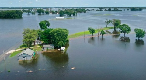 As atmospheric carbon rises, do rivers, adding to flooding