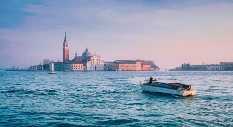 Deserted Venetian lagoon