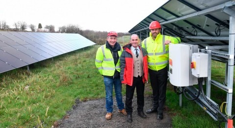 Veolia help Group Water Scheme launch solar energy project