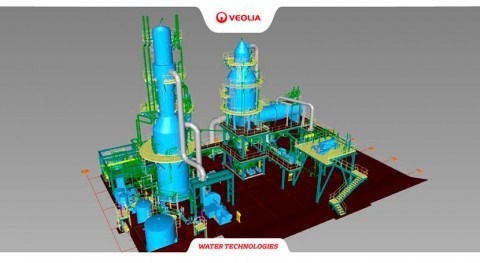 Veolia to supply fibre excellence with new evaporation systems at Saint-Gaudens