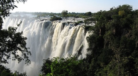 Victoria Falls recover from drought