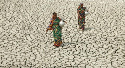 Most vulnerable countries receive the least funding to tackle climate change and the water crisis