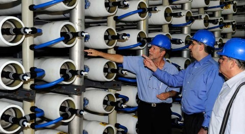 KfW IPEX-Bank finances the construction of Israel's Sorek B desalination plant