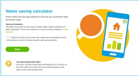 Thames Water launches new calculator to help customers save water