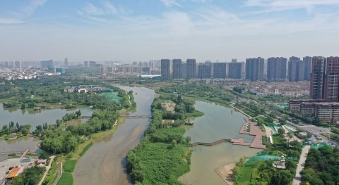 Xi'an takes action to restore its vital rivers with the help of Finnish clean technology