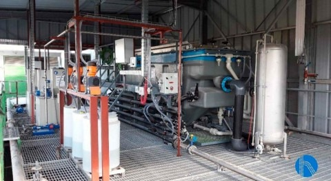 Turnkey project for the treatment of water for industrial processes and wastewater in Tunisia