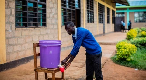 Millions of kids go back to school with nowhere to wash their hands