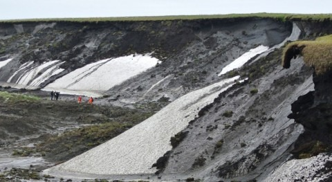 Melting permafrost: the threat of prehistoric mud