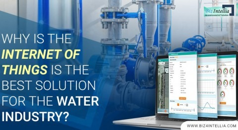 Why is the Internet of Things the best solution for the water industry?